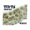 Shrubs TUFTS - 6mm self-adhesive - WHITE