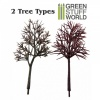 Model Tree Trunks, Pack of 10