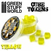 Cube Tokens, YELLOW, 50x