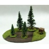 MEDIUM FOREST, READY PAINTED, 15/28MM