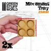 Movement Trays, MDF, 25mm, 2x2 Skirmish Lines