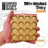 Movement Trays, MDF, 25mm, 4x4 Skirmish Lines
