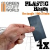 Plastic Bases, Rectangle, 100x50mm