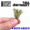 Tall Shrubbery - White Green