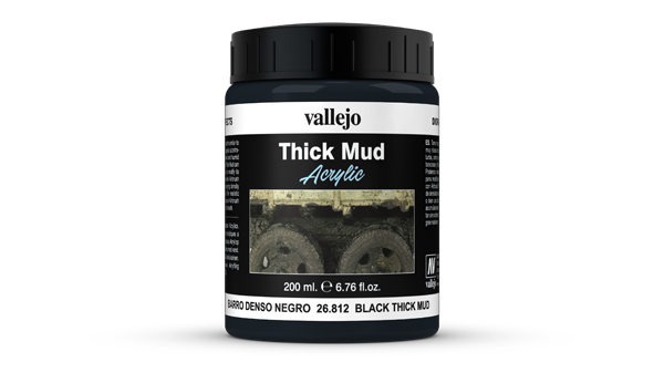 26812 Diorama Effects - Black Thick Mud 200ml