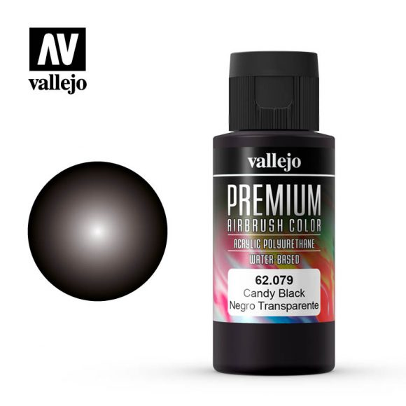 62079 Premium Colour - Candy Black, 60ml