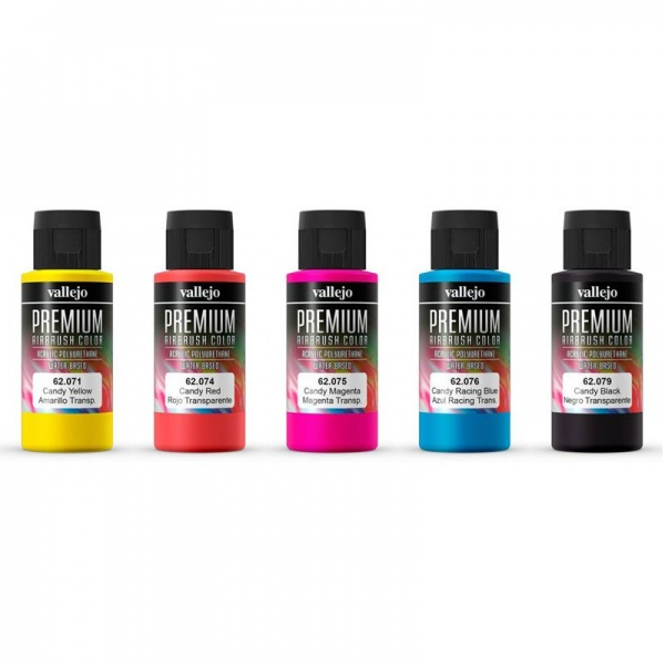 62104 Premium Colour - Candy Colours Set, 5x60ml