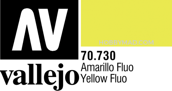 70730 Model Colour - Yellow Fluo 17ml