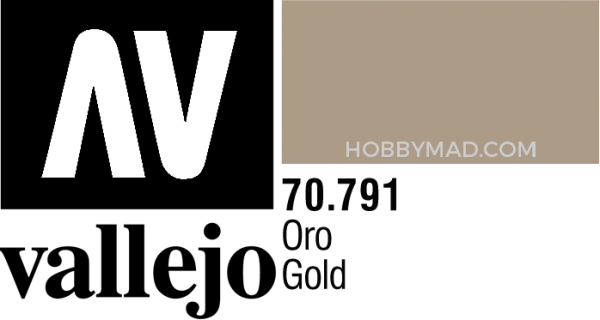 70791 Model Colour - Gold (Alcohol Based) 35ml