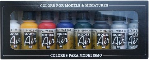 71174 Model Air Set - Basic Colors (8)