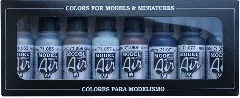 71176 Model Air Set - Metallic Colors (8)