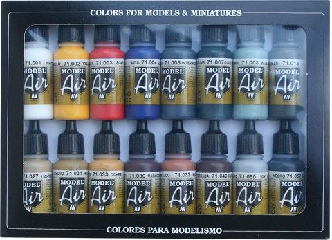 71178 Model Air Set - Basic Color Pack (16)