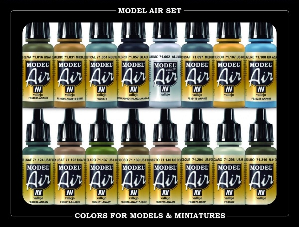 71185 Model Air Set - WWII Usaf Aircraft (16)