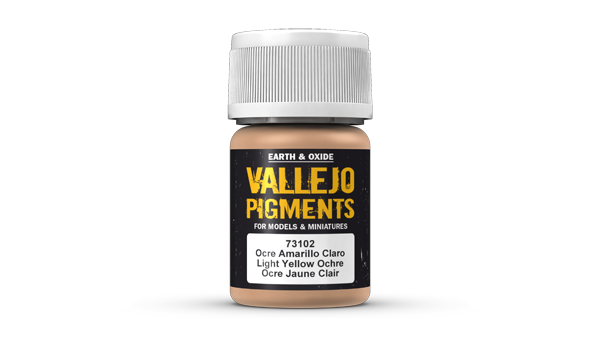 73102 Pigments - Light Yellow Ochre 35ml