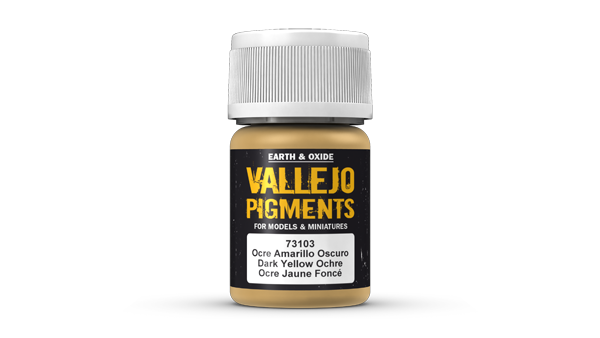 73103 Pigments - Dark Yellow Ochre 35ml