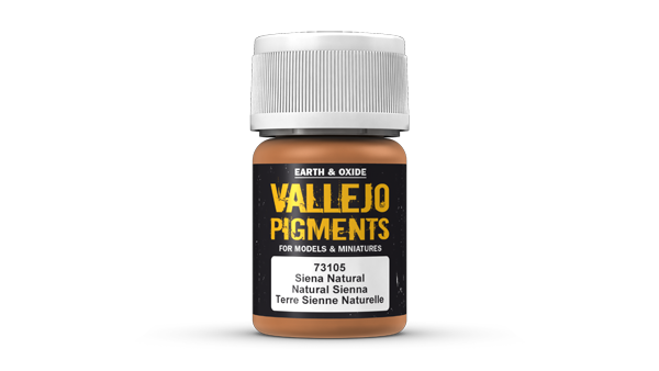 73105 Pigments - Natural Sienna 35ml