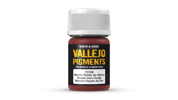 73108 Pigments - Brown Iron Oxide 35ml