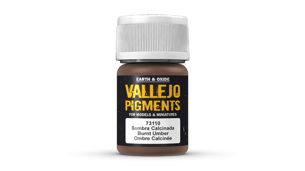73110 Pigments - Burnt Umber 35ml