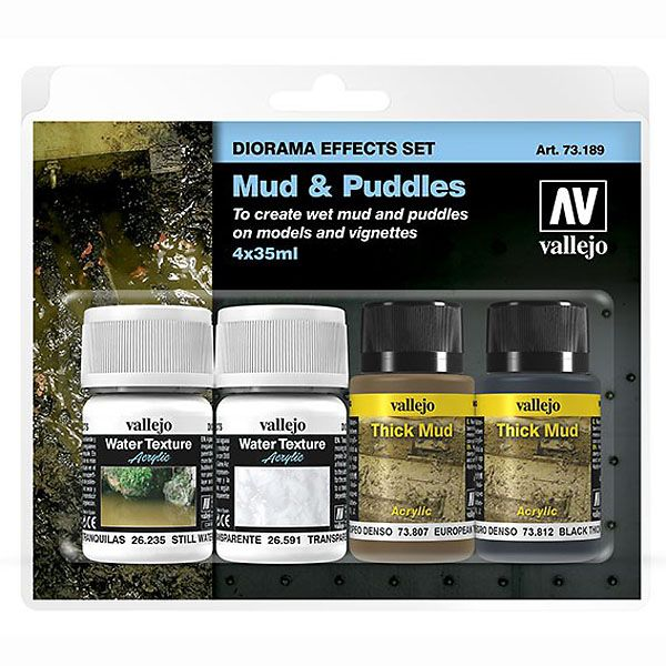73189 Diorama Effects Set - Mud and Puddles, 35ml