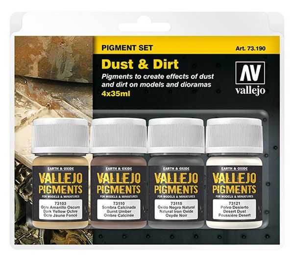 73190 Pigments Set - Dust & Dirt