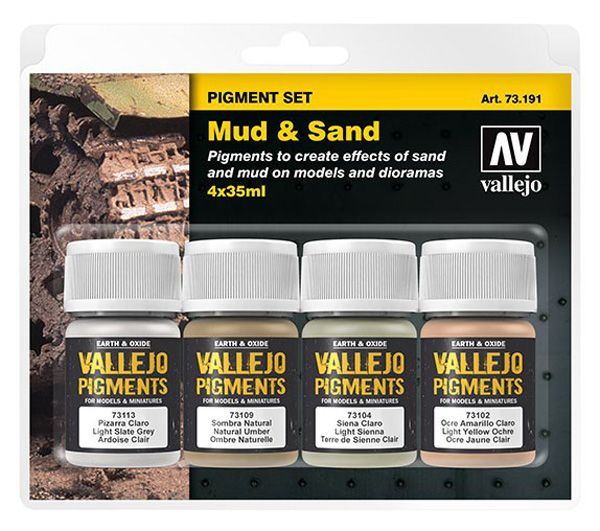 73191 Pigments Set - Mud & Sand