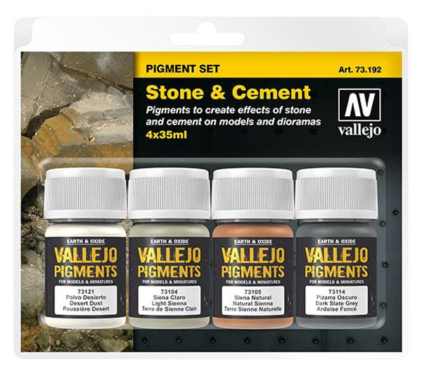 73192 Pigments Set - Stone & Cement