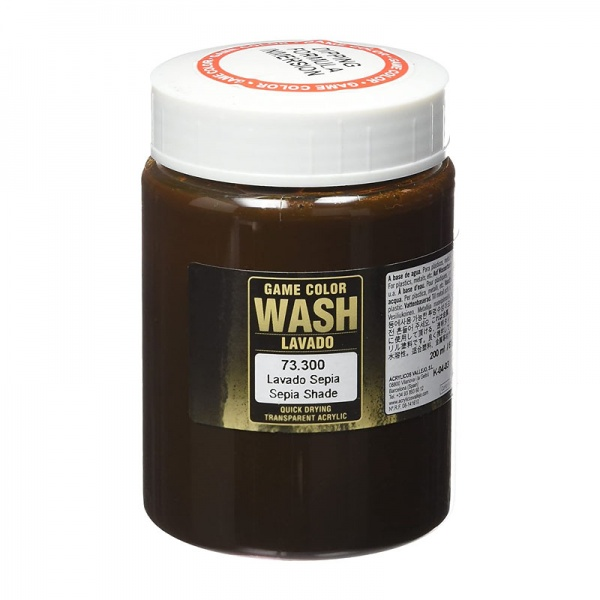73300 Game Colour Dipping Wash - Sepia Wash 200ml