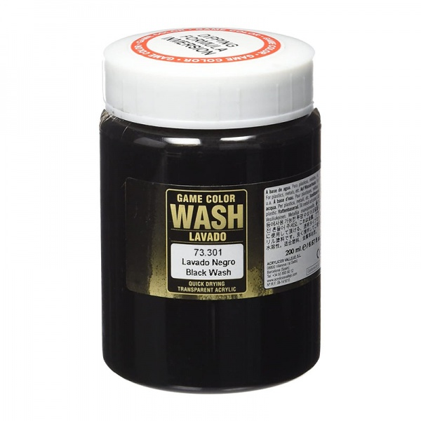 73301 Game Colour Dipping Wash - Black Wash 200ml