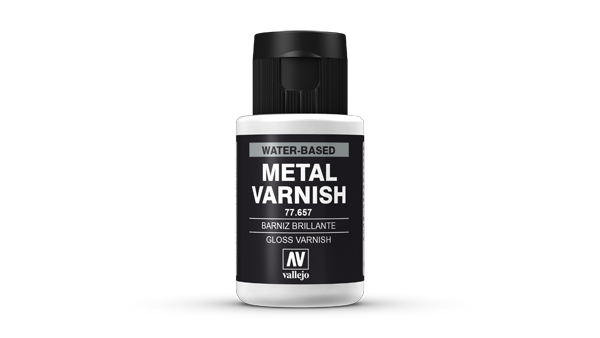 77657 Metal Color - Gloss Metal Varnish 32ml