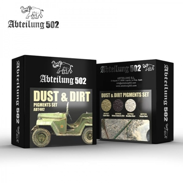 DUST & DIRT PIGMENTS SET