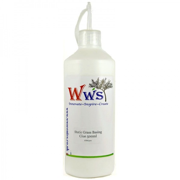 WWS Static Grass Basing Glue, 500ml