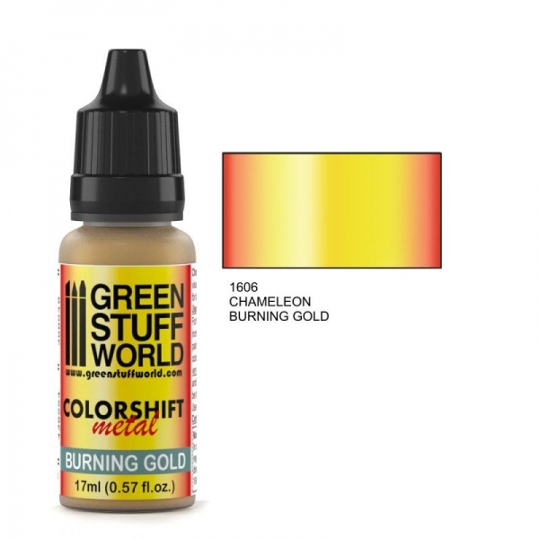 Chameleon Paint, Burning Gold 1606, 17ml