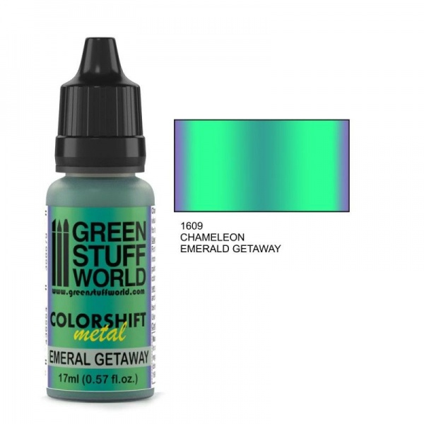 Chameleon Paint, Emerald Getaway 1609, 17ml
