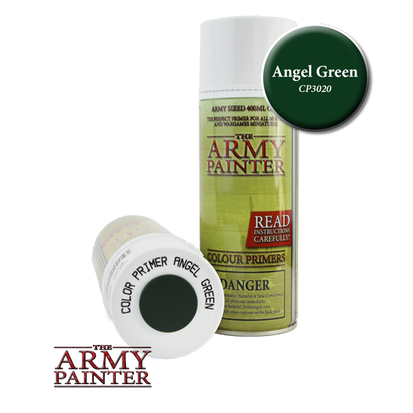 Colour Primer Spray - Angel Green, 400ml
