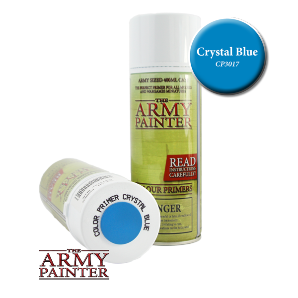 Colour Primer Spray - Crystal Blue, 400ml