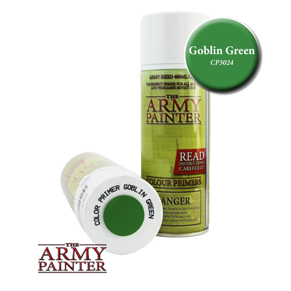 Colour Primer Spray - Goblin Green, 400ml