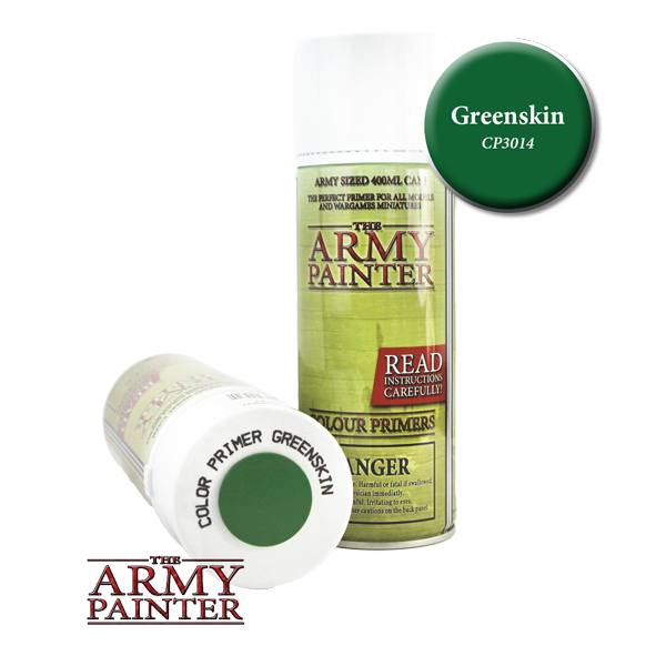 Colour Primer Spray - Greenskin, 400ml