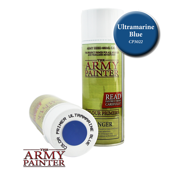 Colour Primer Spray - Ultramarine Blue, 400ml