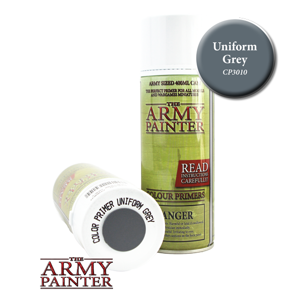 Colour Primer Spray - Uniform Grey, 400ml