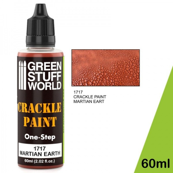 Crackle Paint - Martian Earth, 60ml