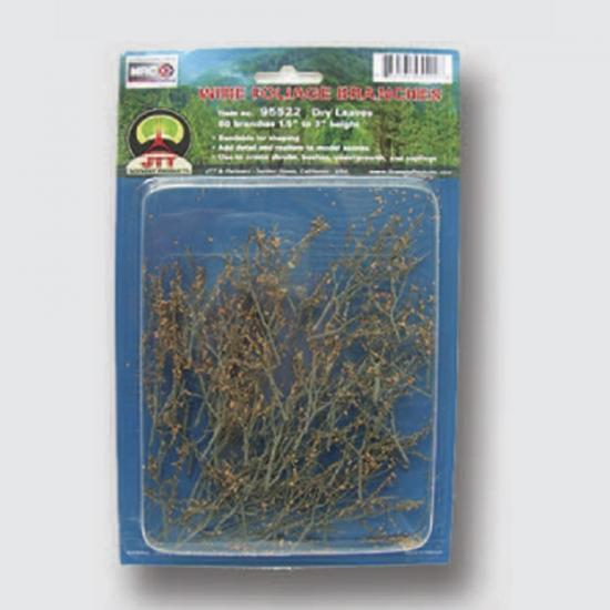 Dry Leaves Branches, 1.5'' to 3'', Pack of 60