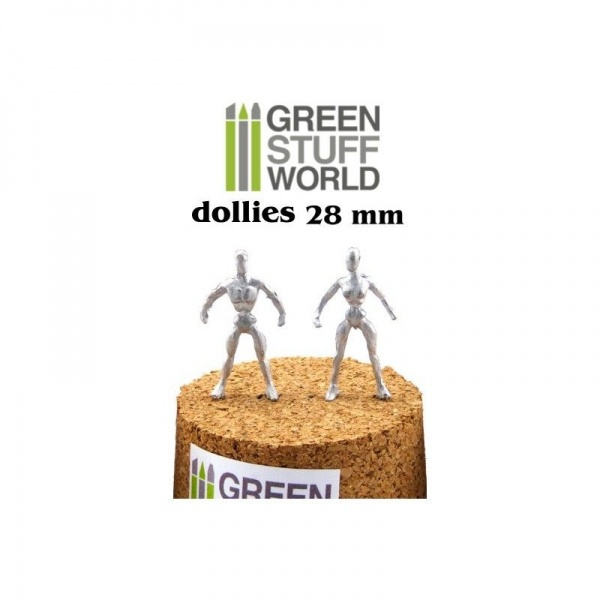 Flexible Armatures in 28 mm