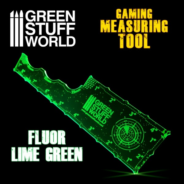 Gaming Measuring Tool - Fluorescent Green