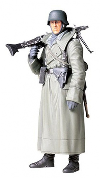 GERMAN MACHINE GUNNER (GREATCOAT) 1:16