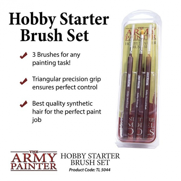 Hobby Starter Brush Set, Army Painter
