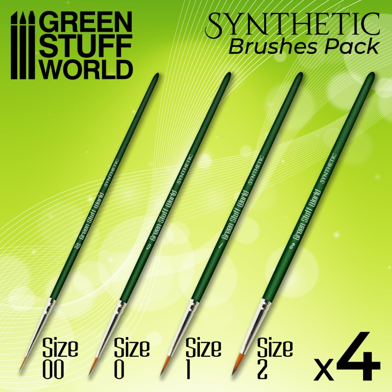 GREEN SERIES Synthetic Brush Set