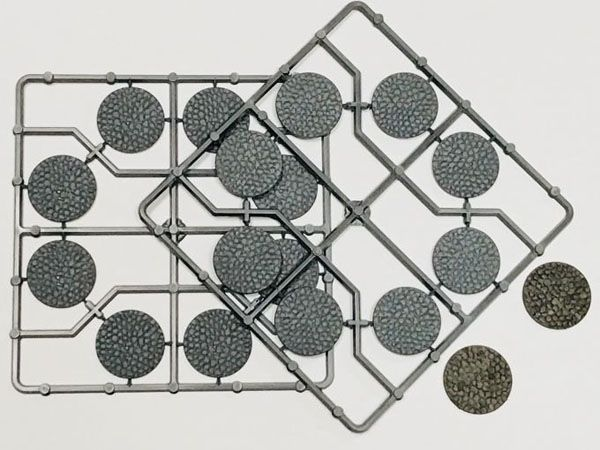 30mm Diameter Cobblestone Bases