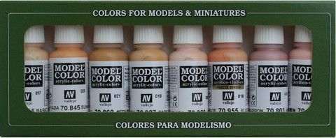 70124 Model Color Set - Face & Skin Tones (8)