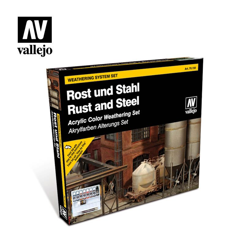 70150 Model Color Set - Rust and Steel (9)