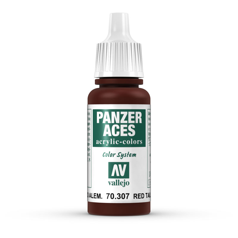 70307 Panzer Aces - German Red Tail Light 17ml